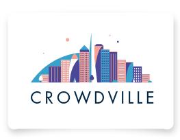 Crowdville logo