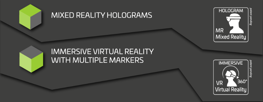 Immagine Mixed Reality Holograms - Immersive Virtual Reality